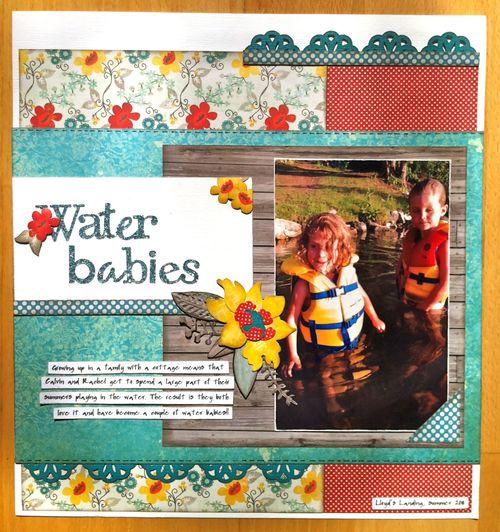 Water babies - sketch #3