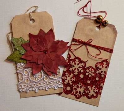 More Christmas tags...