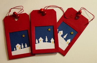 More Christmas tags...